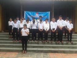 Tam Lộc: kết nạp Đoàn viên mới đợt 01 năm 2019  nhân kỷ niệm 88 năm ngày thành lập Đoàn TNCS Hồ Chí Minh