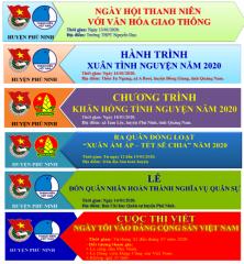 Tuổi trẻ Phú Ninh tự hào tiến bước dưới cờ Đảng - Chuỗi các hoạt động chào mừng kỷ niệm 90 năm ngày thành lập Đảng Cộng sản Việt Nam (3/2/1930-3/2/2020)