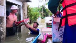 Đoàn thanh niên xã Tam Đàn tham gia phòng chống và khắc phục hậu quả trong đợt lũ lụt vừa qua
