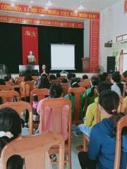 Đoàn xã Tam Lộc tổ chức Hội nghị tuyên truyền pháp luật  cho ĐVTN trên địa bàn xã