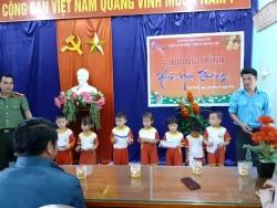"""Đoàn xã Tam Phước tổ chức chương trình """"xuân yêu thương"""""""