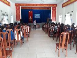 Đoàn xã Tam Vinh tổ chức tập huấn kỹ năng, nghiệp vụ công tác Đoàn – Hội – Đội và triển khai học tập 6 bài học lý luận chính trị năm 2018
