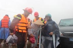 Phú Ninh tích cực hỗ trợ người dân tránh lũ
