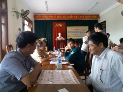 Đoàn TN Phú Thịnh phối hợp với Hội Cựu Chiến binh tổ chức khai mạc giải cờ tướng năm 2018