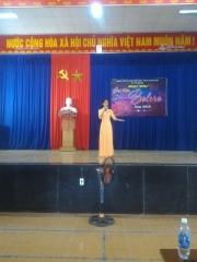 """Đoàn xã Tam Thành phối hợp tổ chức Hội thi văn nghệ """"Giai điệu bolero"""" năm 2018."""
