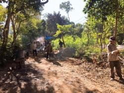 Đoàn thanh niên thị trấn Phú Thịnh: Chương trình làm đường bê tông giao thông nông thôn - Hiệu quả nhiều mặt