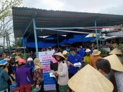 Đoàn xã Tam An phối hợp ra quân tuyên truyền phòng, chống dịch bệnh viêm đường hô hấp cấp do virus Corona (nCoV)