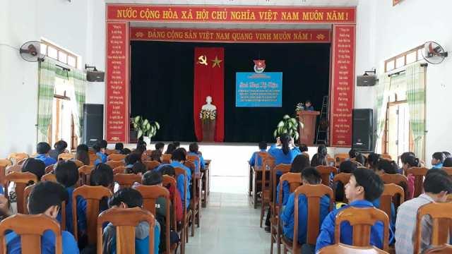 Thanh niên Tam Lộc sôi nỗi các hoạt động ngày Đoàn viên  và chào mừng kỷ niệm 87 năm ngày thành lập Đoàn TNCS Hồ Chí Minh (26/3/1931-26/3/2018)