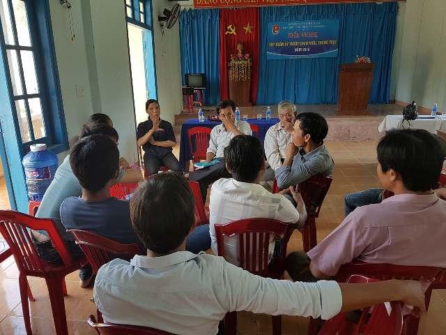 BCH Đoàn xã Tam Lãnh đã tổ chức lớp tập huấn trồng trọt và chăn nuôi cho thanh niên