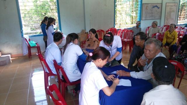Hội LHTN huyện Phú Ninh tổ chức Ngày hội Thầy thuốc trẻ làm theo lời Bác, tình nguyện vì sức khỏe cộng đồng năm 2018.