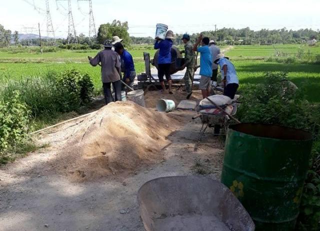 Đoàn xã Tam Phước tổ chức ra quân chiến dịch tình nguyện hè 2018