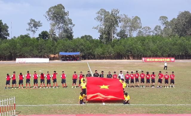 Khai mạc Giải bóng đá Ủ23 huyện Phú Ninh năm 2018