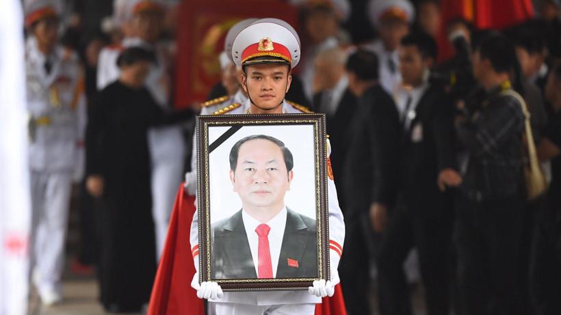 TOÀN CẢNH: Lễ tang Chủ tịch nước Trần Đại Quang