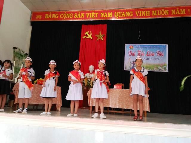 Liên đội trường Tiểu học Lê Lợi tổ chức Đại hội liên đội năm học 2018-2019