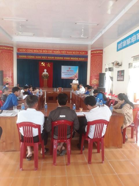 Đoàn xã Tam Đại tổ chức Hội nghị tổng kết công tác Đoàn – Hội, phong trào thanh thiếu nhi năm 2018 và triển khai phương hướng nhiệm vụ công tác năm 2019.