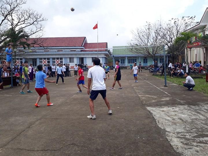 Đoàn Thanh niên xã Tam Vinh phối hợp tổ chức các hoạt động  thể dục thể thao đầu Xuân Kỷ Hợi 2019