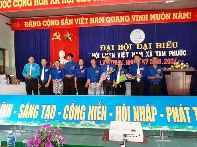 Phú Ninh tổ chức Đại hội Hội LHTN Việt Nam cấp xã, thị trấn nhiệm kỳ 2019-2024