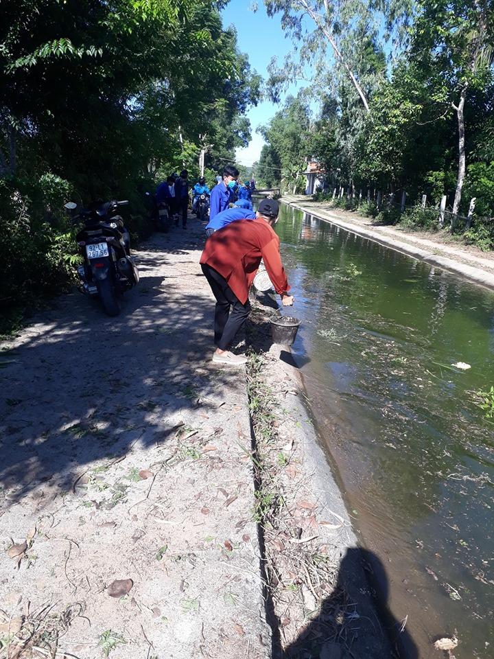 Duy trì tuyến đường thanh niên tự quản trên địa bàn huyện Phú Ninh