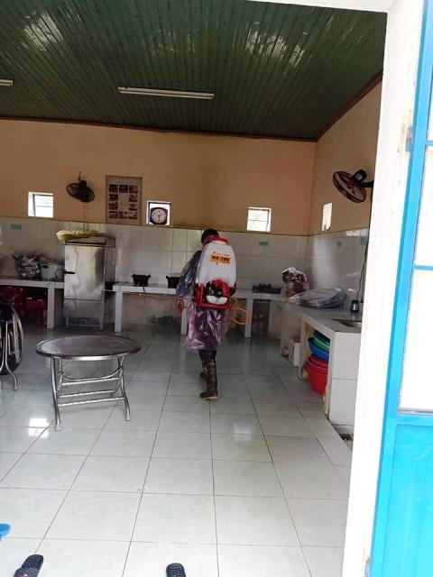 Công tác phòng chống dịch bệnh viêm đường hô hấp cấp Corona của Đoàn thanh niên thị trấn Phú Thịnh